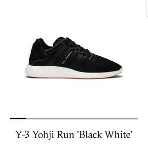 Y-3 Yohji Run 'Black White'